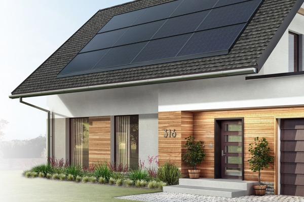 gaf solar roof shingle
